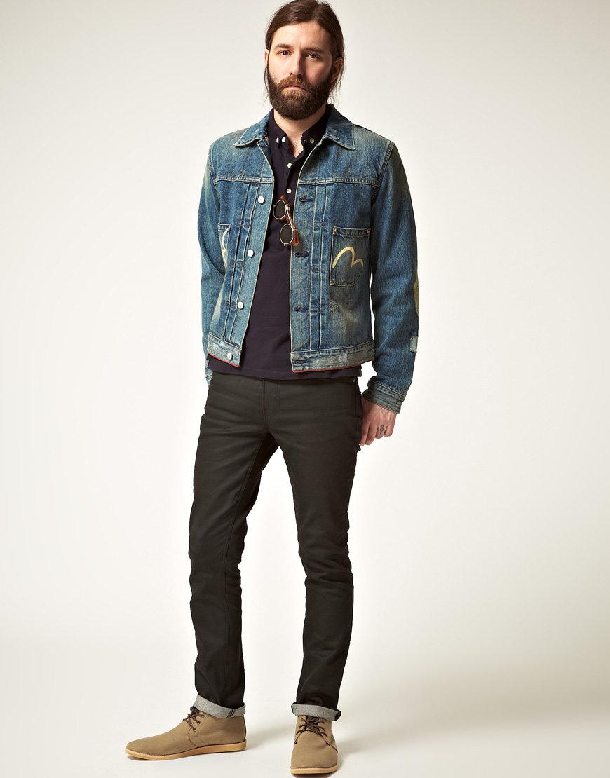 этой с чем носить мужскую джинсовую куртку фото это был