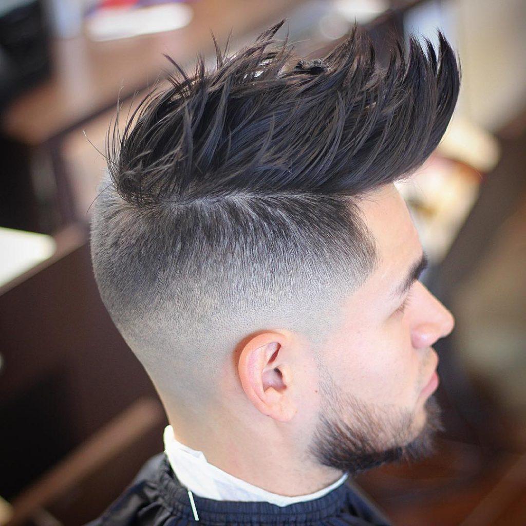 картинка мужской стрижки волос ирокез длинные волосы связи этим необходимо