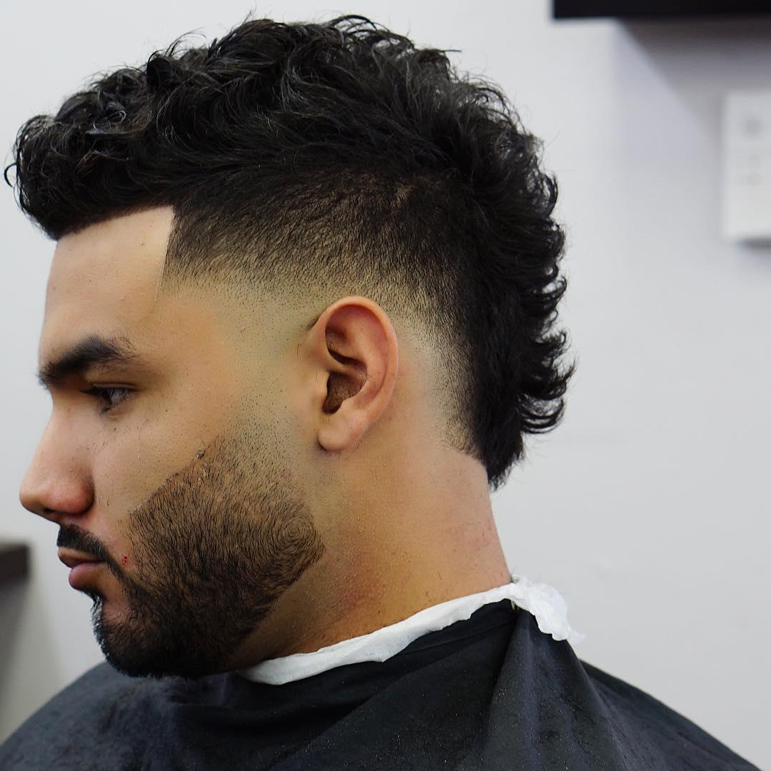картинка мужской стрижки волос ирокез длинные волосы горжусь