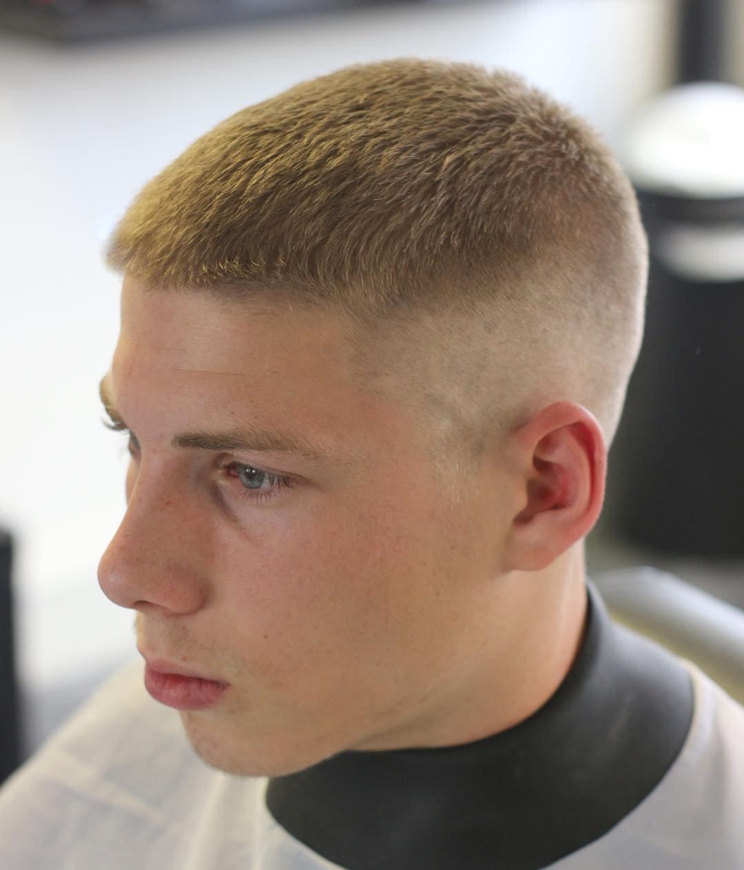 мужские стрижки фото на короткие волосы полубокс моя