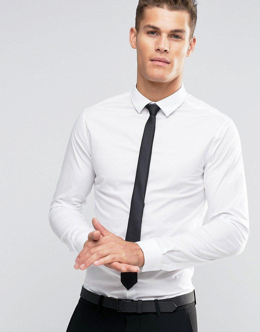 называют белая рубашка с галстуком картинки менее
