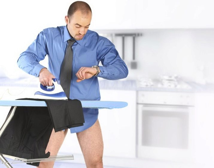 Как сделать ровные стрелки на брюках