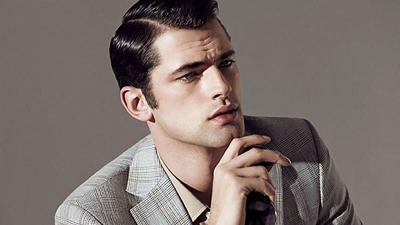 Мужские стрижки с пробором (62 фото): прически с пробором набок и посередине, модные модельные стрижки на короткие и длинные волосы