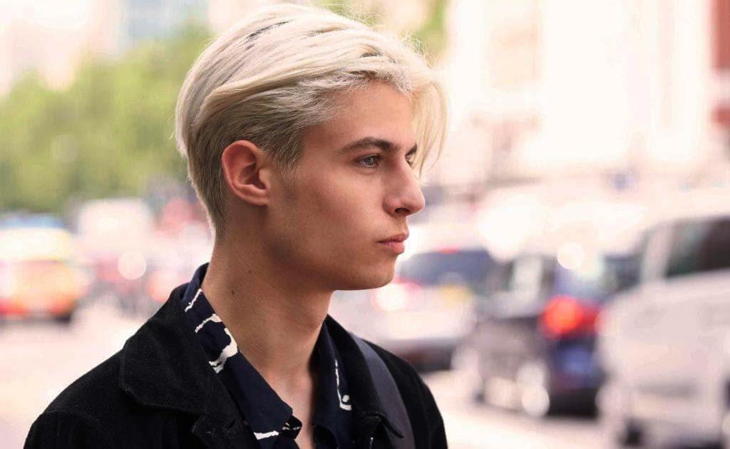 Покрасить волосы мужчине (23 фото): особенности окрашивания и обесцвечивания мужских волос, восстановление крашеных волос после осветления