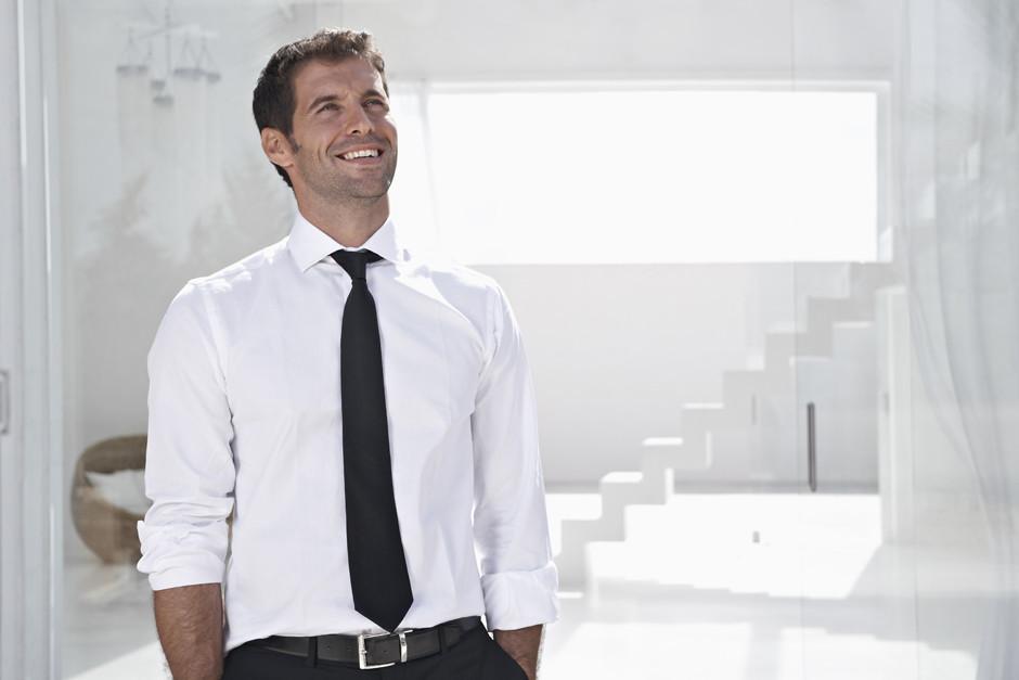 Длина галстука должна быть фото