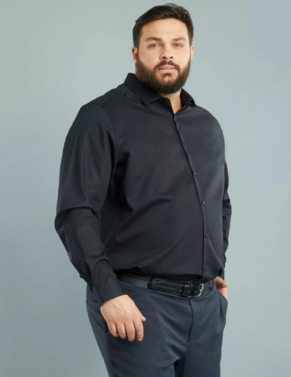 Рубашки для полных мужчин фото
