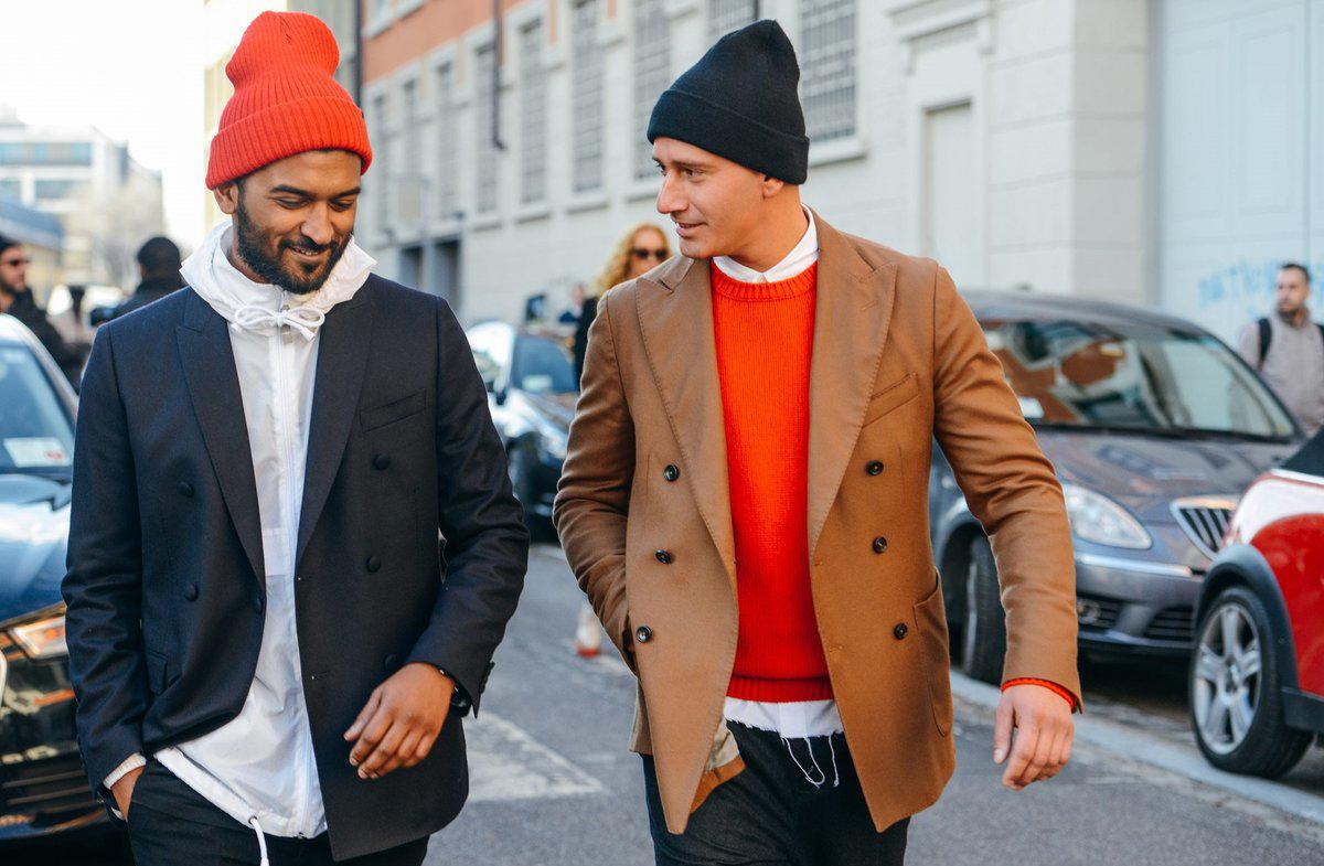 Как носить шапку носок мужчинам? — umka