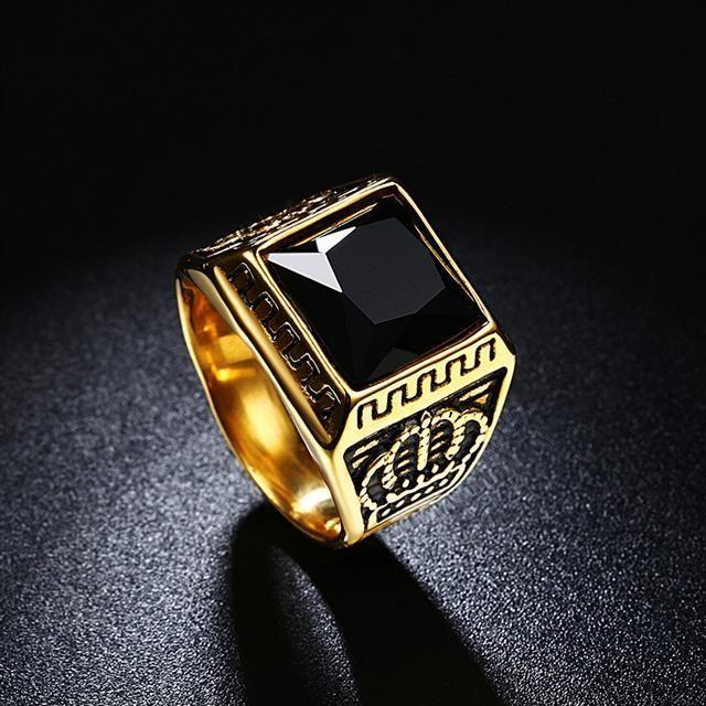 Мужские кольца печатки фото