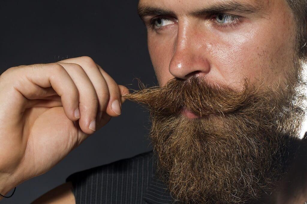 Картинка человека с усами и бородой