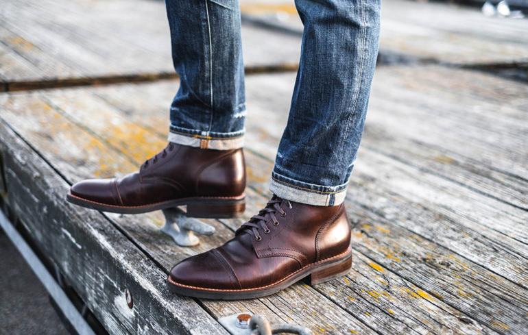 Зимняя обувь под брюки и джинсы