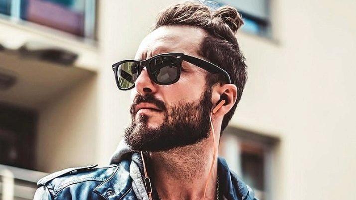 Мужской пучок: как можно собрать волосы?
