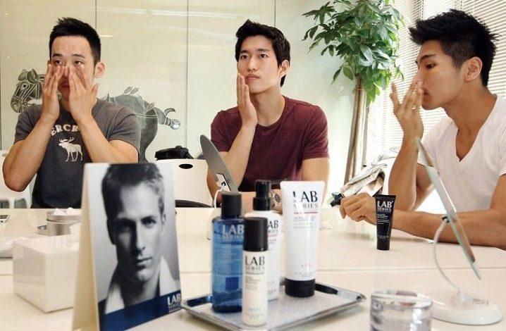 Корейский уход за лицом для мужчин