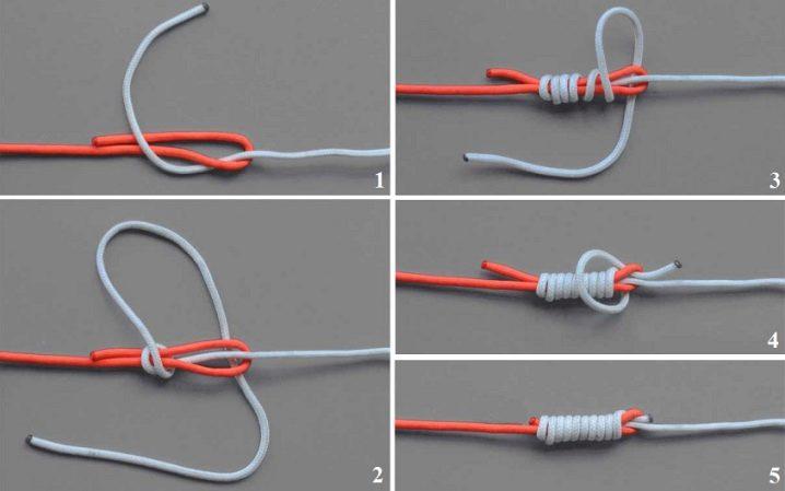 Как связать леску между собой различными узлами и методами